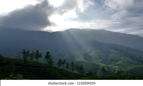 """""""Rays of Hope"""" -Blissful Views of Munnar Hill Station, Kerala."""