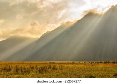 Rays of Lights in Bromo