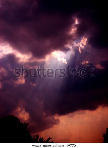 Rays Passing through