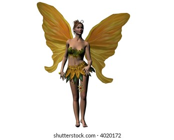 Raytraced fairy