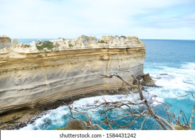 The Razorback. Scenic lookout in The Great Ocean Road, Twelve Apostles, Australia.