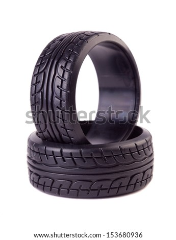 Rc Drift Tires Stock Photo Edit Now 153680936 Shutterstock