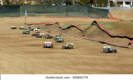 rc model car rally race