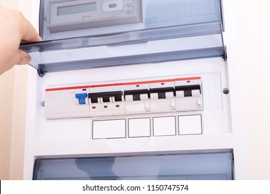Superb Rcd Circuit Breaker Board Fusebox Apartment Stock Photo Edit Now Wiring Cloud Hisonuggs Outletorg