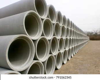 RCP Concrete Pipe ASTM C76 AASHTO ACPA Elliptical Inspection Transportation DOT Approved Materials for Road and Bridge Construction M170 M206 M242 D-Load tested culvert pipe arches