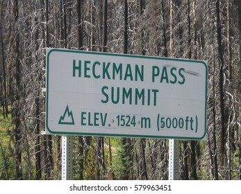 Reaching the Heckman Pass Summit viewpoint