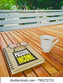 read passive income book on relax day