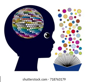 Reading affects the brain. Cognitive stimulation and brain development for kids in early childhood education