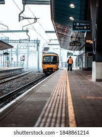 Reading, Berkshire / England UK - November 2020: Reading Train Station