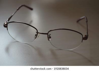 Reading Brown Eyeglasses frame for women