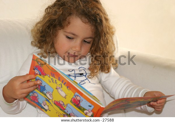 reading a child's book