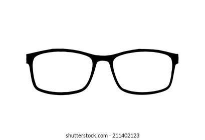 Reading Glasses illustration