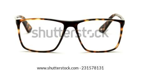 9d1980297358 Reading Glasses Tortoiseshell Frames Isolated On Stock Photo (Edit ...