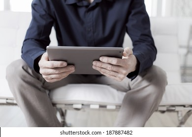 Reading on a tablet pc