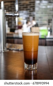 Ready to Drink ,Frothy Nitrogen Cold Brew Coffee , barista make from roasted bean coffee
