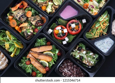 Ready meals, tasty and colorful menus for every day.