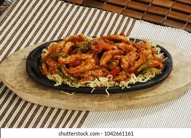 Ready sizzler dish