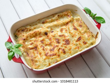 ready Spinach and cheese cannelloni