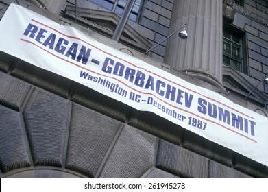 Reagan-Gorbachev Summit in Washington DC