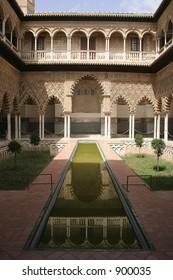 Real Alcazar in Sevilla, Spain