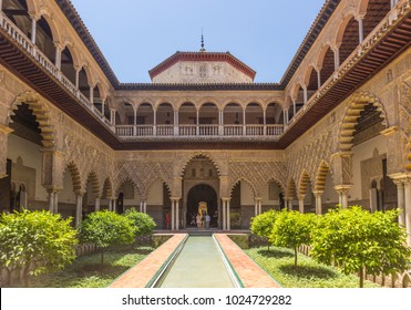 Real Alcazar of seville,Spain