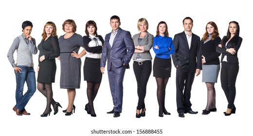 Real business team
