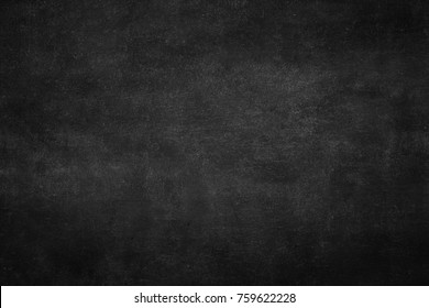 Real chalkboard background texture in university college concept back to school kid wallpaper for create chalk text drawing graphic. Empty retro blank education blackboard used.