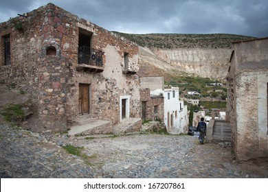 REAL DE CATORCE, MEXICO - DEC 05: Real de Catorce - one of the magic towns in Mexico, Mexico, 05 December, 2013. The city Real de Catorce is protected by UNESCO