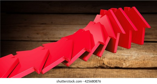 Housing Market Crash Images, Stock Photos & Vectors | Shutterstock