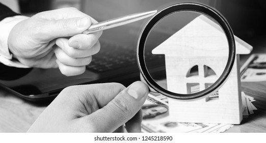 Real estate concept. Buying and selling homes. Rent apartment. Sale of property. Mortgage and payment of taxes. Debt and loan. Purchase. Home sold. Realtor and Real Estate Agent. selective focus