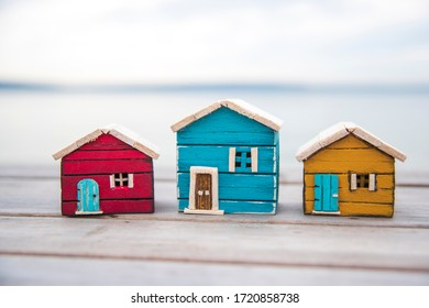 real estate concept. stay at home stay safe