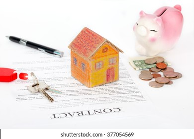 real estate contract ready for signing