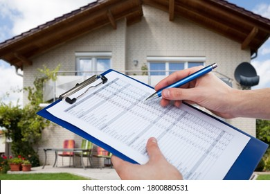 Real Estate Home Property Inspecting And Appraisal By Appraiser