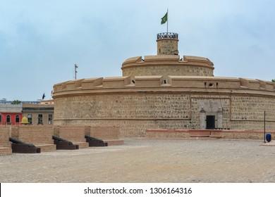 Real Felipe Fortress, Lima, Peru