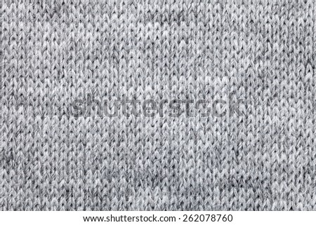 b68b117be52 Real grey knitted fabric made of heathered yarn textured background