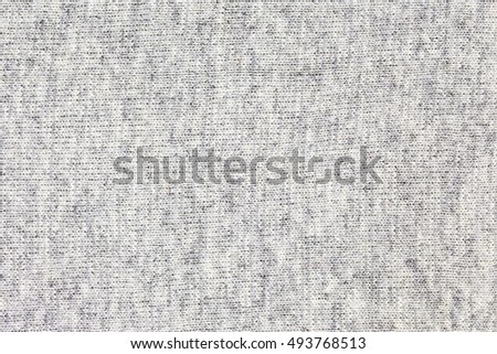 16bc811e193ee0 Real grey knitted fabric made of heathered yarn textured background