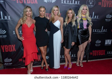 """The Real Housewives of Beverly Hills attend Skyline Entertainment's  """"The ToyBox"""" Los Angeles  Premiere at Laemmle's NoHo 7, North Hollywood, California on September 14th, 2018"""