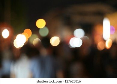 Real Light Bokeh abstract background