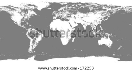 Real Looking Earth Map Map Accurate Stock Photo Edit Now 172253