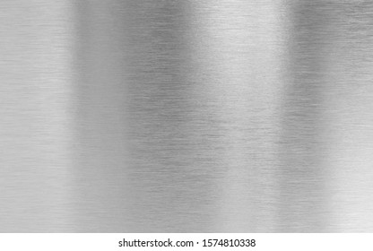Real metal aluminum fine brushed texture - Shutterstock ID 1574810338