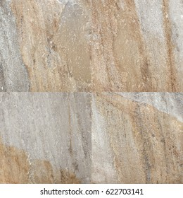 Real natural brown stone texture and surface background. Stone surface. Granite slabs.