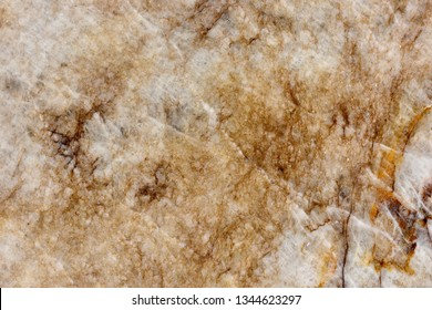 """Real natural pattern of Quartzite cream brown color polished slice mineral. Super high resolution.""""Quartzite  Cristallo Brown """" texture pattern."""