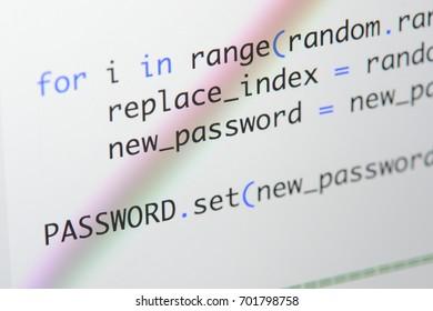 Python Code Images, Stock Photos & Vectors | Shutterstock