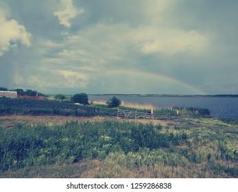 real rainbow images stock photos vectors shutterstock