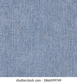 Real Seamless Texture, Seamless pattern, Large Denim fabric texture, Old blue denim. Repeating pattern