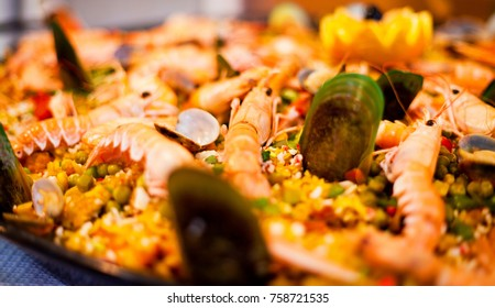 Real Spanish Seafood Paella
