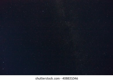 Real stars in the night sky