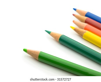 real world condition colored pencils