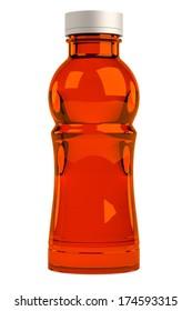 realistic 3d render of bottle