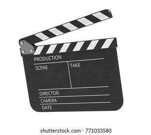 Realistic 3D render of Clapperboard